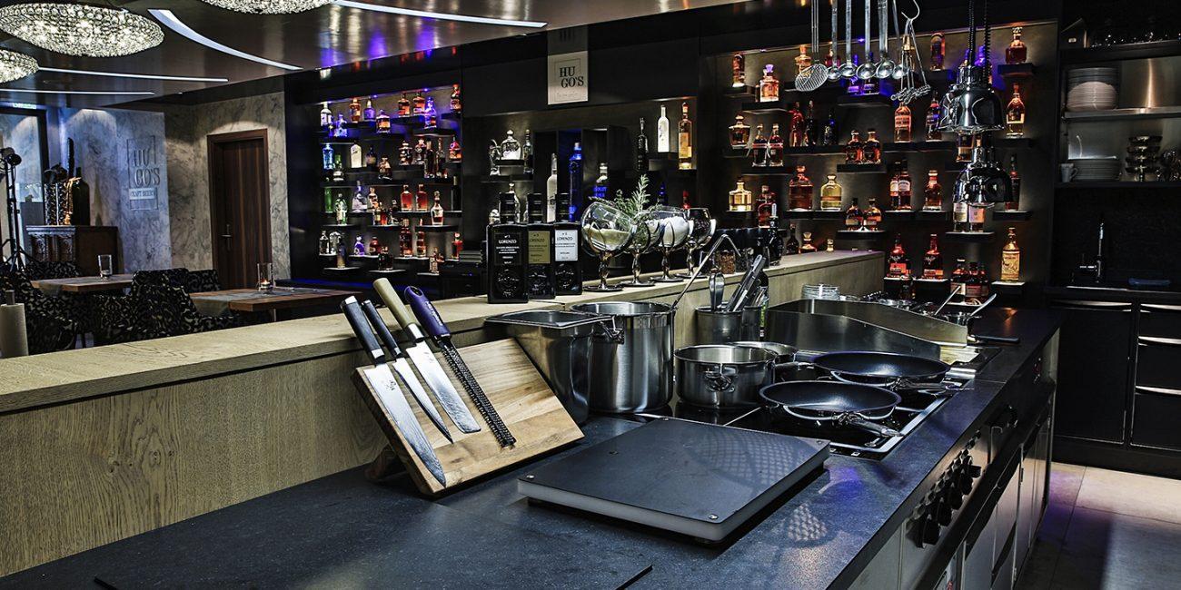 Hugos Gourmetrestaurant Wellnesshotel Cervosa